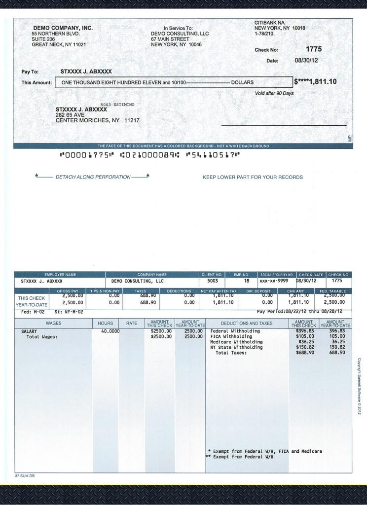 sample checks1