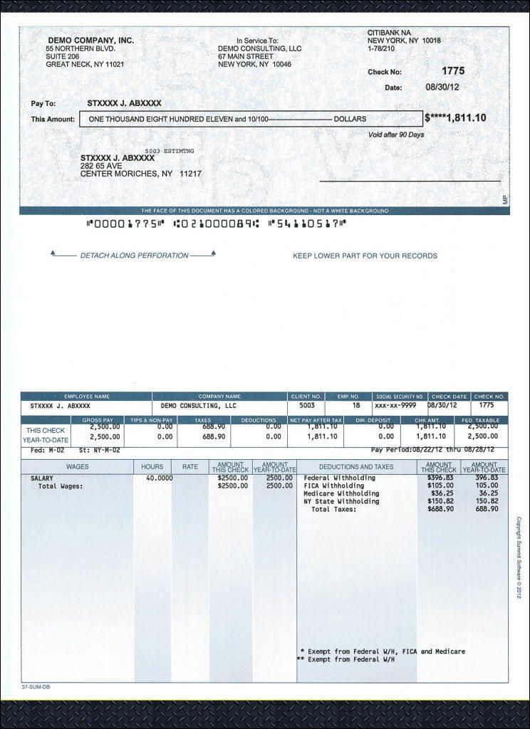 Sample Checks